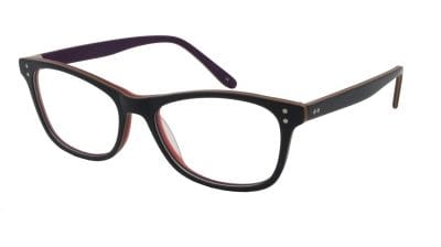 Georgia Black & Plum Frame