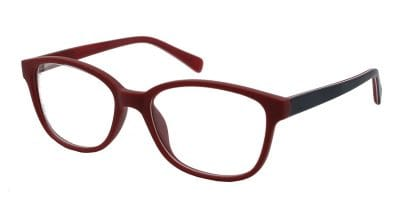 Vaughan Red & Navy Frame