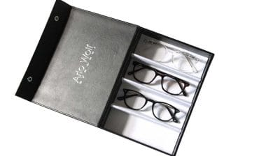 Glasses Display Case