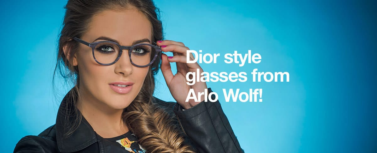 Dior style glasses from Arlo Wolf!