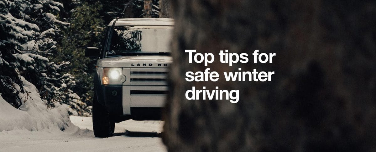 Top tips for safe winter driving if you wear glasses