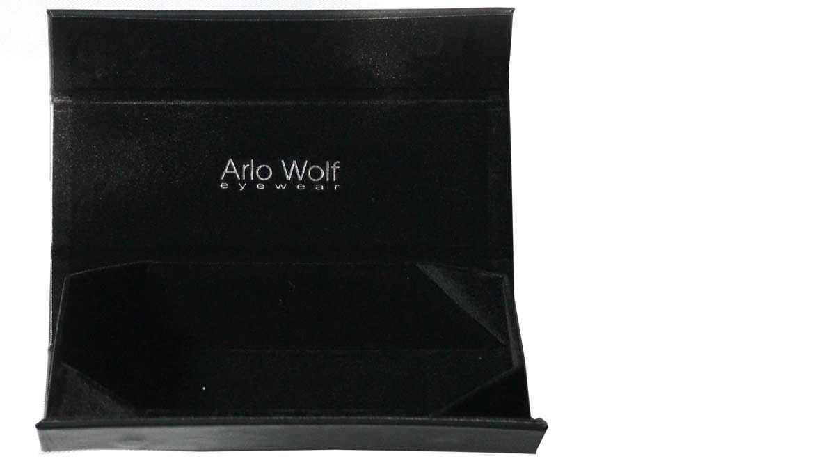 Arlo Wolf Protective Fold Flat Glasses Case
