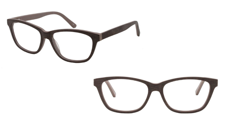 Holmes frames in brown at different angles