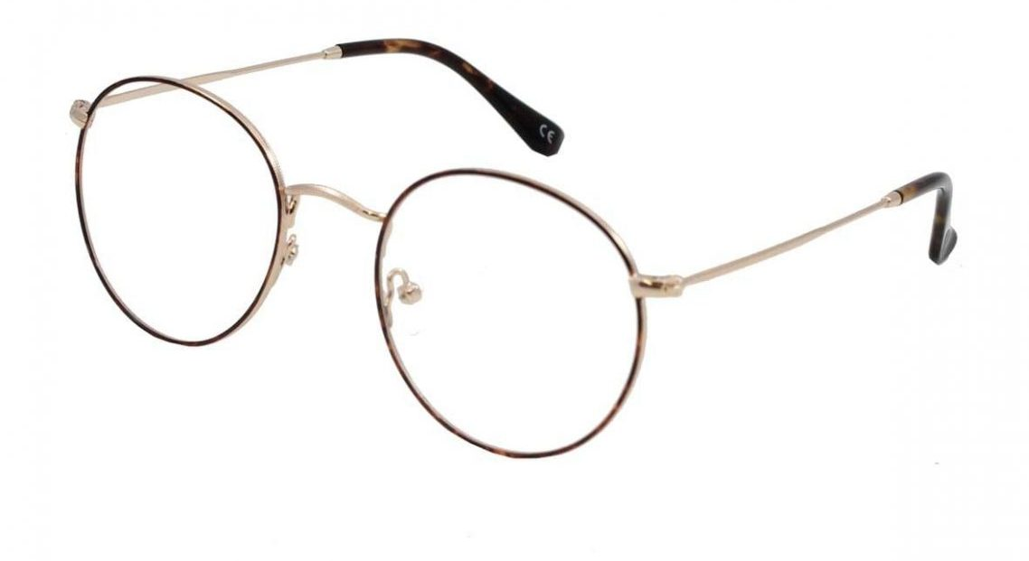 Brooklyn frames in tortoise from the front