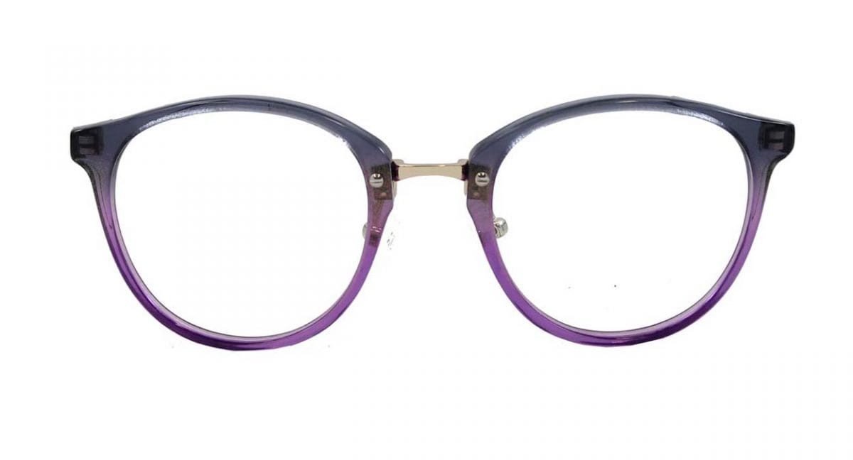 Callie frames in purple
