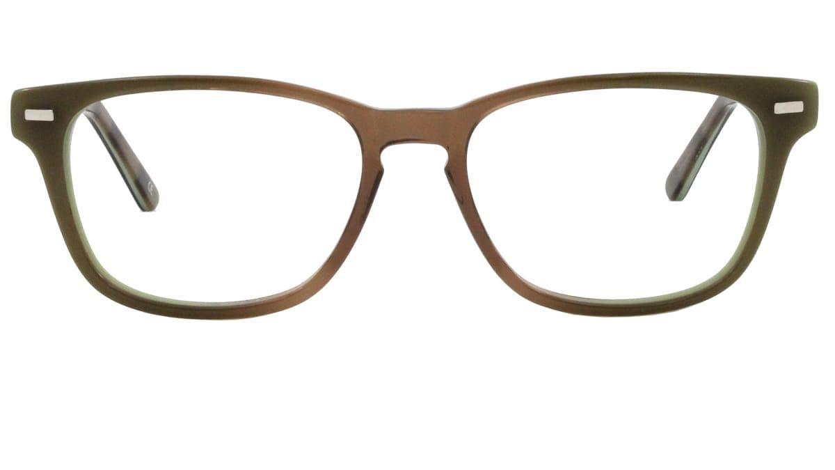 Logan frames in green olive
