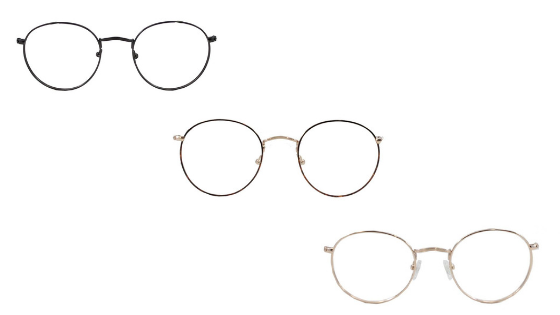Brooklyn opticals in pewter, tortoise and gold
