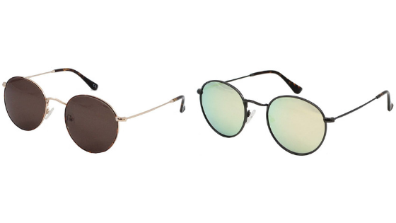 Brooklyn sunglasses in tortoise and pewter
