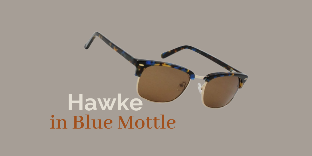 Hawke Sun / Blue Mottle
