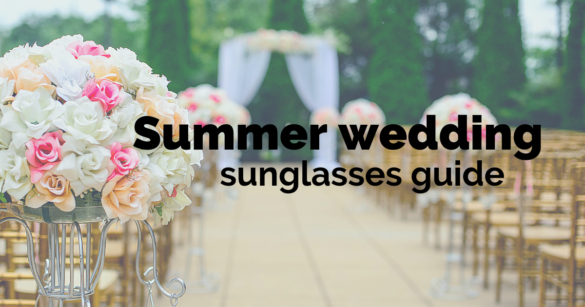 Summer wedding sunglasses - Top picks from Arlo Wolf
