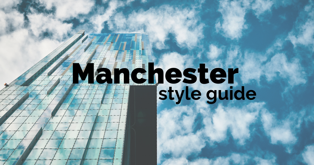 A Manchester location style guide