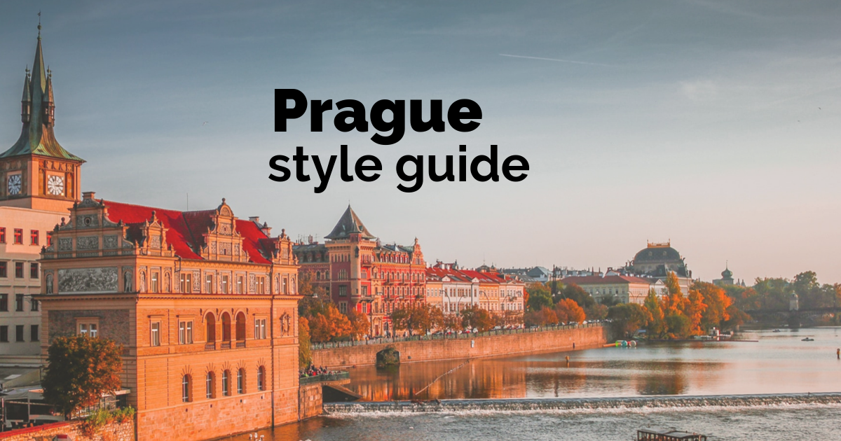 Prague Style Guide