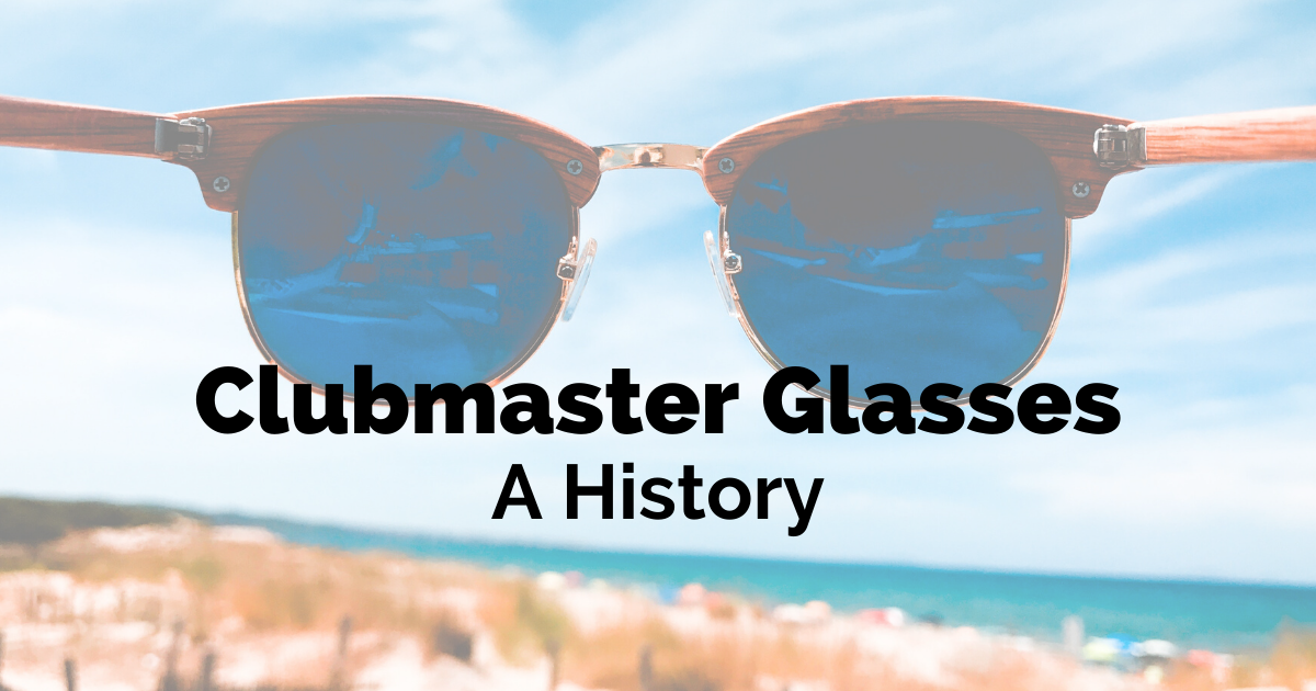clubmaster glasses history