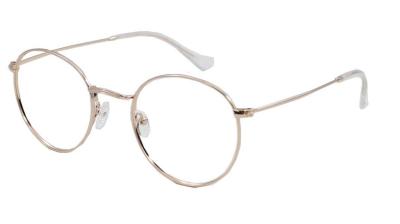 Brooklyn Gold Glasses