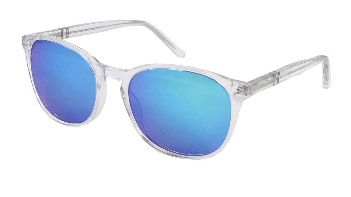 Reign Sun / Crystal Blue Mirror Lenses