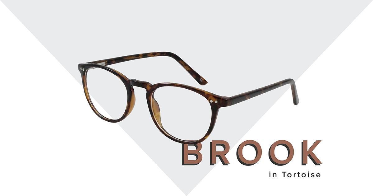 Brook frames in tortoise