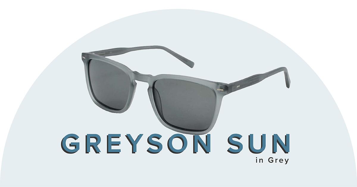 Greyson sunglasses in grey