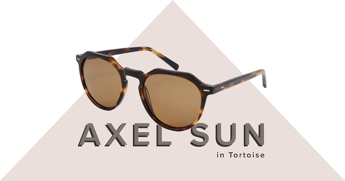 Axel sunglasses in tortoise