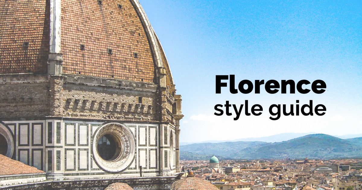 Florence style guide