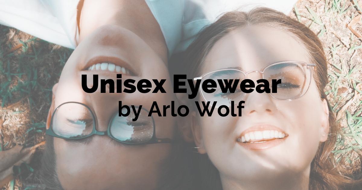 unisex eyewear range arlo wolf